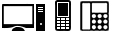 Softphone / Mobile Phones / Deskphones