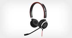 Evolve 40 MS Duo Corded USB-A Headset