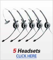 Five Headsets
