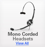 Mono Corded Headsets