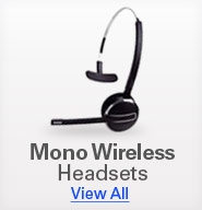 Mono Wireless Headsets
