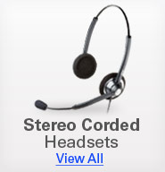 Stereo Corded Headsets