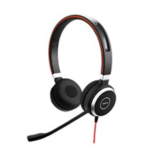 Corded Headsets  Evolve 40 UC Duo