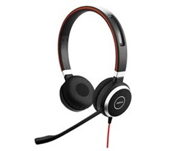 Jabra Microsoft Teams Headsets  jabra evolve 40 stereo single pack microsoft optimized
