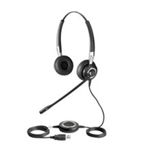 Stereo Corded Headsets gn netcom 2499 823 105 Microsoft Optimized