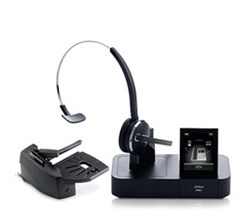 Jabra GN Netcom Certified Refurbished Headsets PRO 9470 Mono With Lifter Refurbished