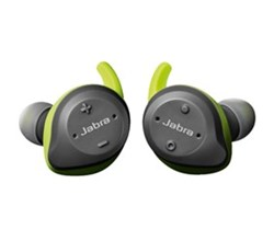 Jabra Stereo Headsets jabra elite sport lime green and grey