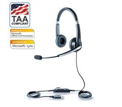 Jabra TAA Compliant Solutions jabra uc voice 550 duo ms taa compliant