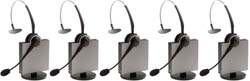 Jabra GN Netcom 5 Headset Bundles jabra gn 9125 flex mono nc category 5