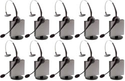Jabra GN Netcom 10 Headset Bundles jabra gn 9125 flex mono nc category 10