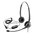 Jabra / GN Netcom GN 2125 Duo NC TC + GN1200 Duo Headset with Telecoil