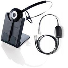 Jabra Mono Wireless Headsets for Polycom jabra pro 920