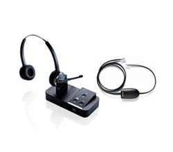 Jabra GN Netcom Stereo Wireless Headsets jabra pro 9450 duo with ehs 14201 17 for polycom