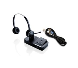 Jabra GN Netcom Stereo Wireless Headsets jabra pro 9450 duo with ehs 14201 10 for aastra