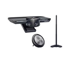Jabra PanaCast 180 Degree HuddleRoom Camera jabra panacast with table stand and speak 710