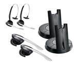Jabra / GN Netcom GN9330e-Mono-2 DECT 6.0 Wireless Headset W/ 2 Wearin