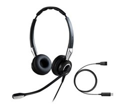 Zoom Headsets jabra biz 2400 ii duo nc with link 230