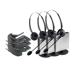 Jabra GN Netcom 3 Headset Bundles jabra gn9125 duo with lifter 3 pack