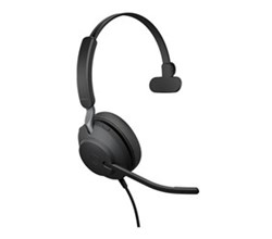 Jabra Microsoft Teams Headsets  jabra evolve2 40 ms teams mono usb a microsoft optimized