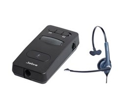 Jabra GN Netcom Audio Enhancers  jabra link 860 with freegn 2020 tele mono headset
