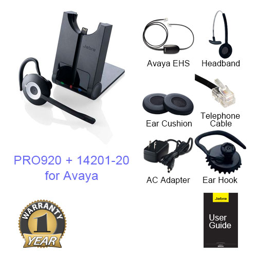 Jabra Mono Wireless Headsets for Avaya